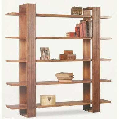 Resultado de imagen para librero de madera sencillo
