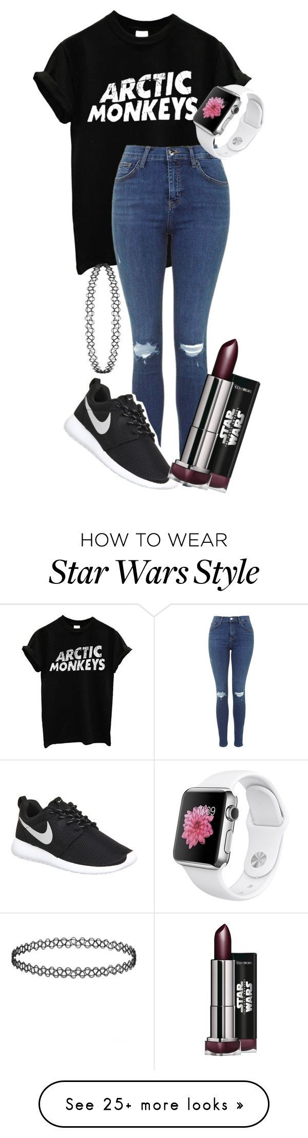 Untitled #246 by tanyawhyler on Polyvore featuring NIKE, women's clothing, women's fashion, women, female, woman, misses and juniors