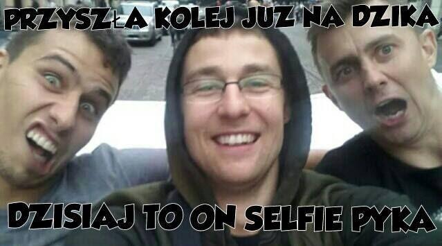 takie tam selfie. ^^ Fabian Drzyzga, Michał Dziku Kubiak i Krzysztof Igła Ignaczak. ♥