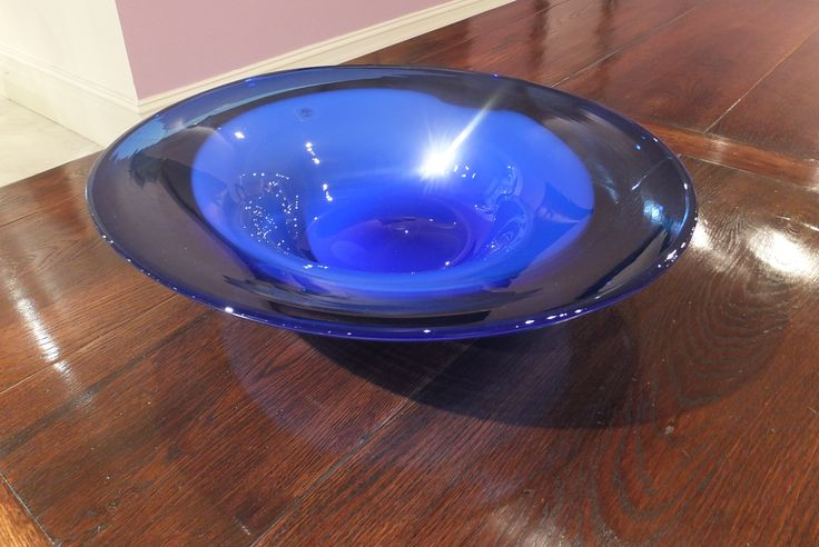 John Stroomer - Hand Blown Glass Bowl