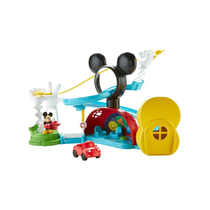 Fisher-Price Disney Mickey Mouse Clubhouse Zip, Slide and Zoom Clubhouse,