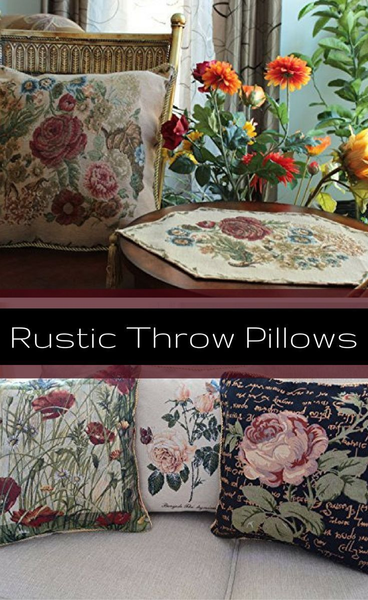 Cozy up your home this fall by using cute, charming and unique rustic decorative throw pillows. These rustic throw pillows are plush, beautiful and perfect for your home. Especially perfect this time of year as rustic colors are in. For example, this rustic accent pillow is stylish and wildly popular right now.   #rustic #decorative throw #pillows