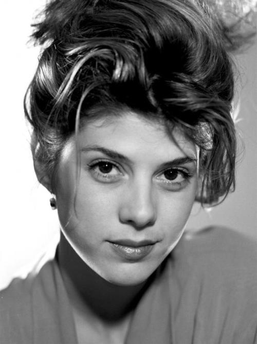 Marisa Tomei photographed by Michael Tighe    Studio shoot, LA, 1991.