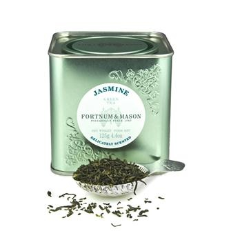 Fortnum and Mason's green tea with jasmine. Delicious.