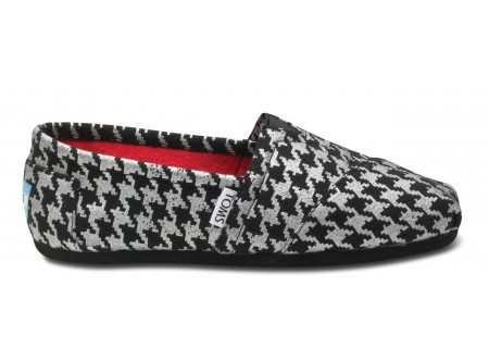 love: Fashion, Style, Silver Houndstooth, Toms Shoes, Rolls Tide, Houndstooth Toms, Women Classic, New Shoes, Toms Women
