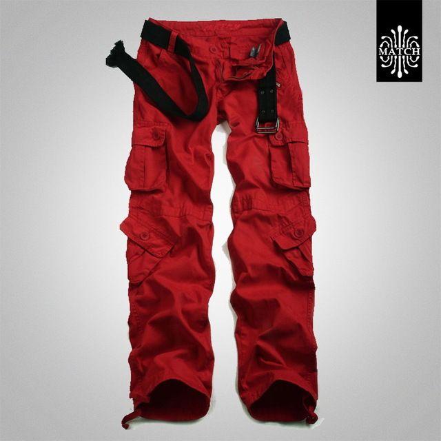 Top Offers $40.49, Buy Women Cargo Pants Fashion Large Size Women Loose Multi-Pocket Cotton Trousers Spring Autumn Baggy Women Hip Hop Pants A1552