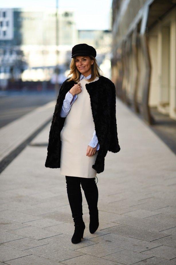 Style...Janka Polliani // knee high dress and over the knee boots