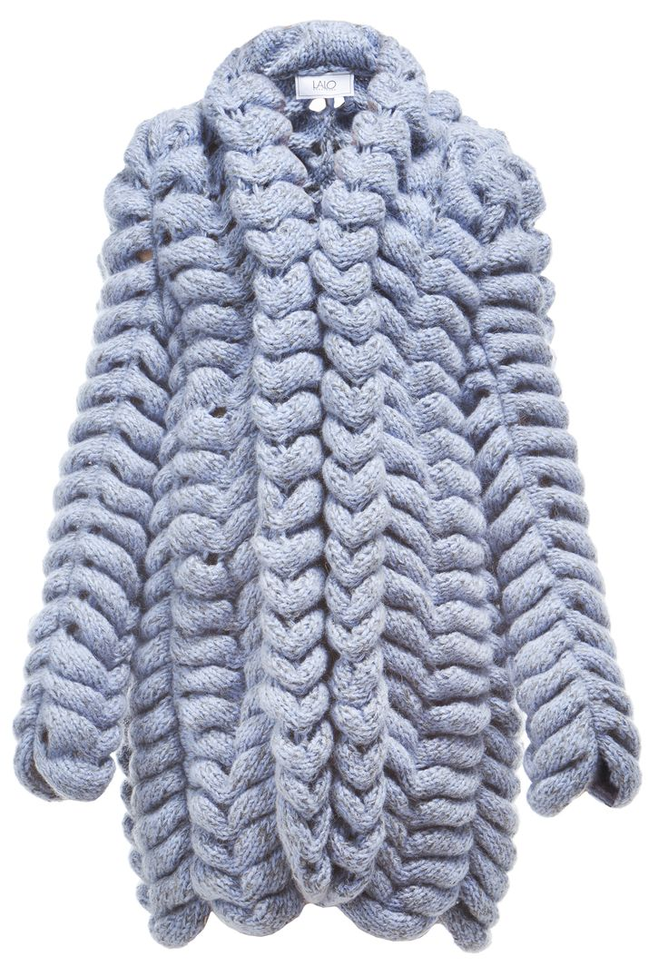 MORE is LOVE | Lalo - Blue Caterpillar Cardigan - Jackets