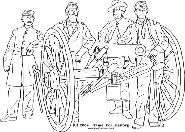 Civil war coloring pages group of union officers pose Coloring books for adults near me