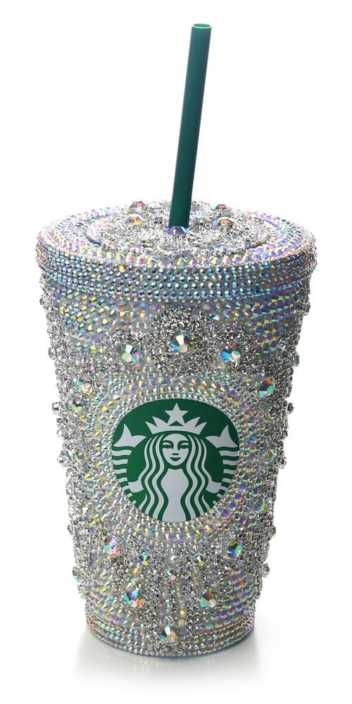 Oh Lordy....Swarovski Starbucks Mug