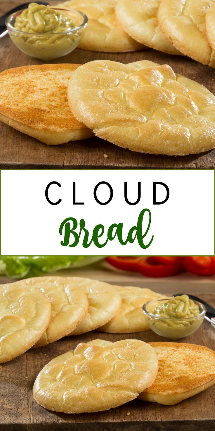 Cloud Bread makes the perfect low-carb burger bun!