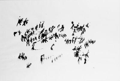 Henri Michaux:1960-61 sans titre