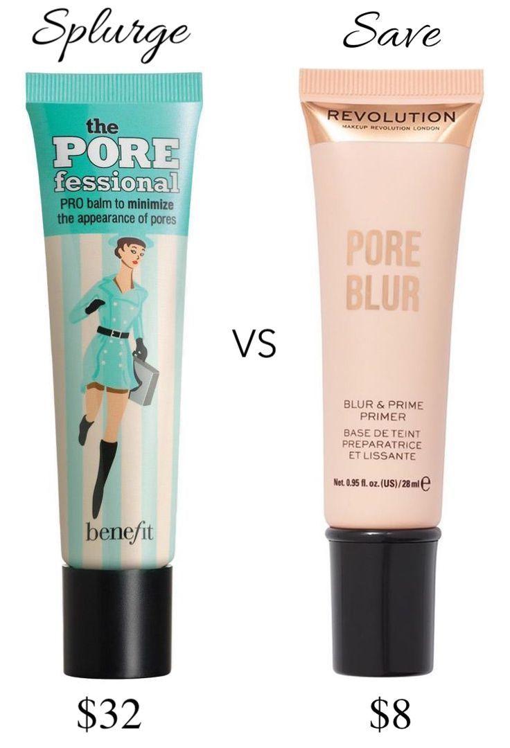 Makeup Revolution Pore Blur Primer: Benefit POREfessional Primer Dupe?
