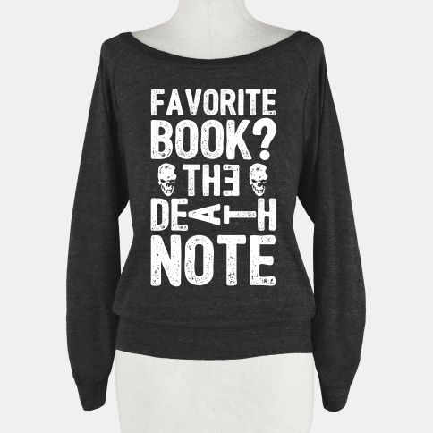 Favorite Book? The Death Note | Next time a teacher asks what's my fav book this is what I'm going to say