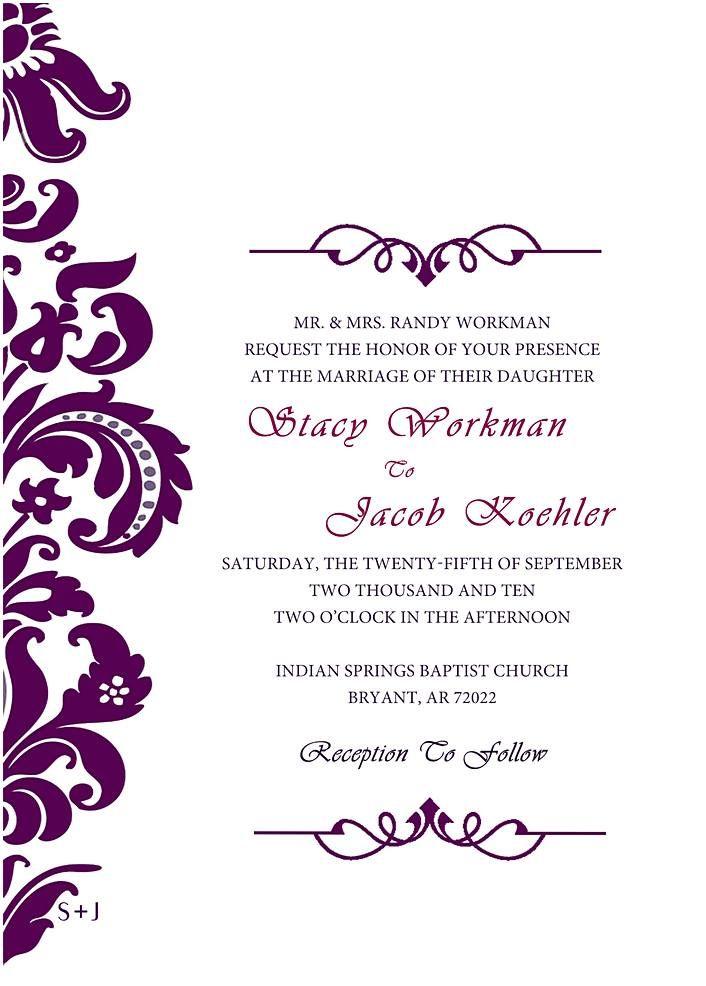 Wedding Invitation Designs Marina Gallery Fine Art Wedding Invitations Printable Templates Blank Wedding Invitation Templates Free Wedding Invitation Templates