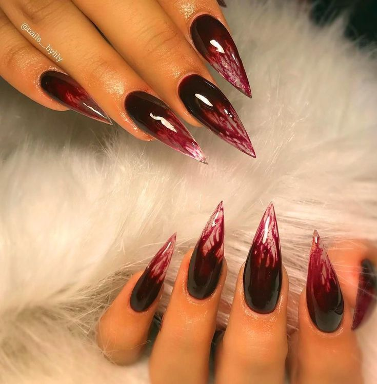 30+ Acrylic Nails To Copy Now – Halloween
