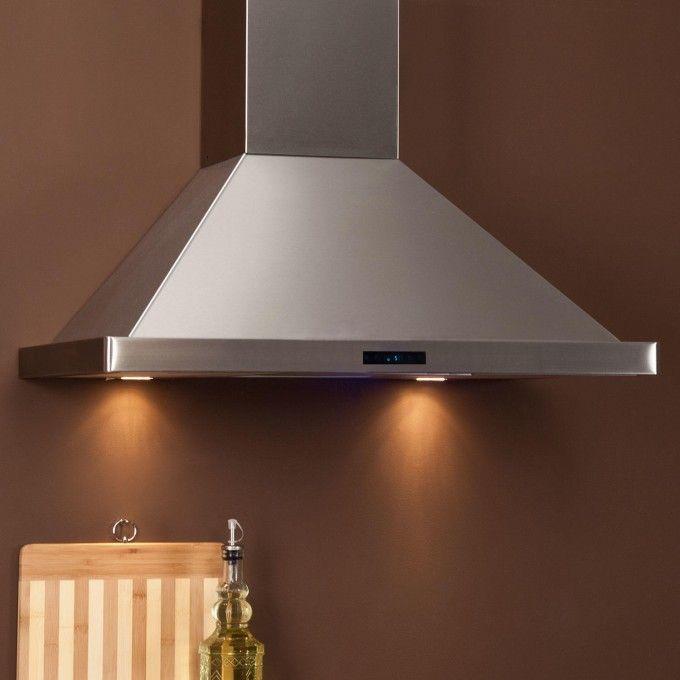 """30"""" Arezzo Series Stainless Steel Wall-Mount Range Hood - 470 CFM Fan - Kitchen"""