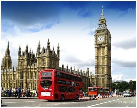 Anglie, Londýn, Big Ben (99 pieces)