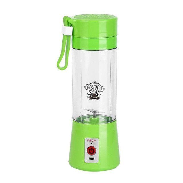 Portable 380ml USB Electric Fruit Juicer Handheld Smoothie Maker Blender Rechargeable Mini Portable Juice Bottle Water Bottle