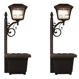 Gama Sonic Plantern 36X 1-Watt Black Solar Led Path Light Gsg2-111Pl