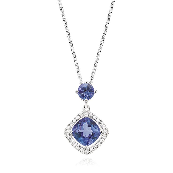 Tantalising tanzanite is the perfect gift for a December birthday. Available in-stores now. #mazzucchellis #december #decemberbirthday #birthday #birthstone #tanzanite #decemberbirthstone #giftideas #giftsforher #jewellery #gifts #love #memories