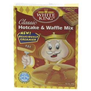 Pannenkoeken & Wafel Mix White King Pannenkoeken & Wafel Mix is een kant-en-klare mix voor lekkere zelfgemaakte pannenkoeken en wafels. Serveer deze wafels en pannenkoeken van White King met vers fruit, honing, gesuikerde condenseerde melk of met hartige ingrediënten zoals eieren en vlees. https://www.asianfoodlovers.nl/producten/desserts/pannenkoeken-wafel-mix-400-gram