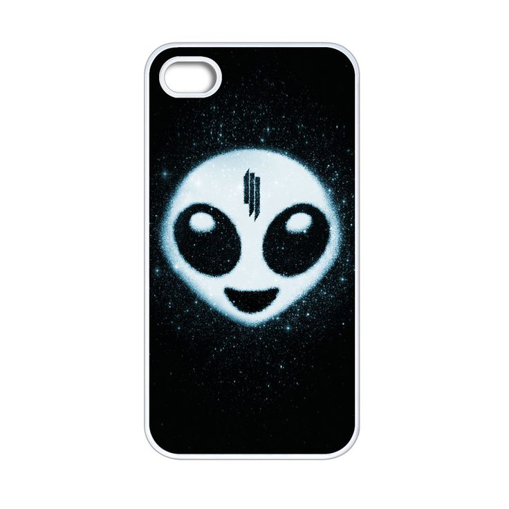 Skrillex Alien Emoji iPhone 4[S] Case