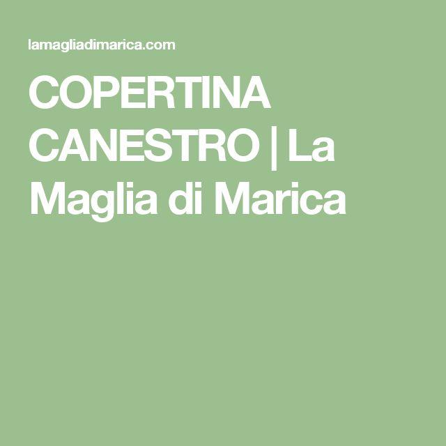 COPERTINA CANESTRO | La Maglia di Marica