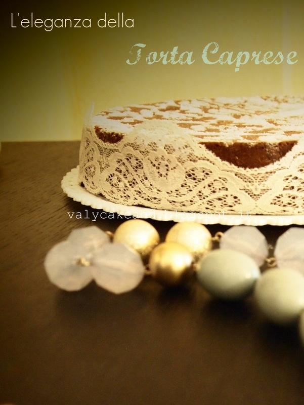Capri's Almonds cake