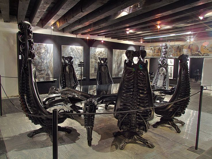 HR Giger - Come dine with me
