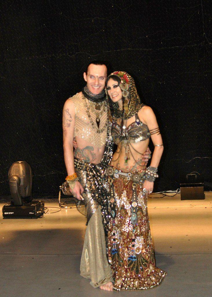Amir & Rachel Brice) #amir #assuit #tribal #dance #fusion #NY #RachelBrice