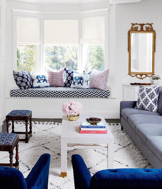 Blue And White Living Room Decorating Ideas Images Design Inspiration