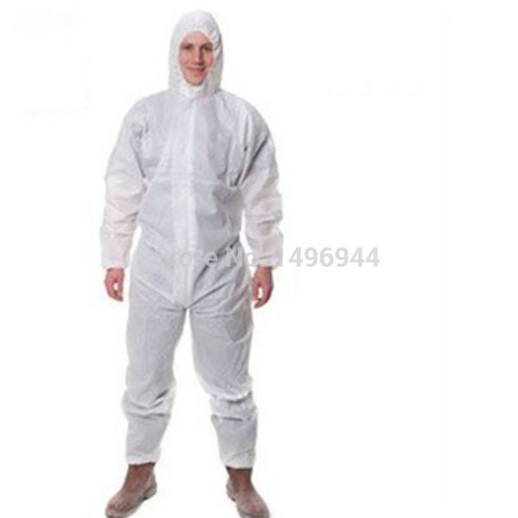 Safety clothing work Coverall Sets Protective clothing Prevent particulate matter Anti-liquid 3M4515 White Waterproof Breathable