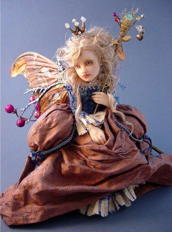 Joanna Thomas doll/ i think I will need a  Farie doll for my new room..