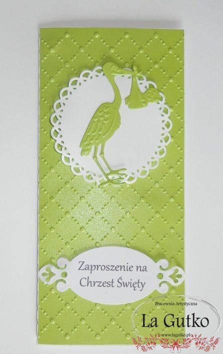 Zaproszenie na Chrzest Św. www.lagutko.pl