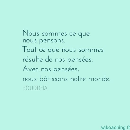 Citation de Bouddha à méditer