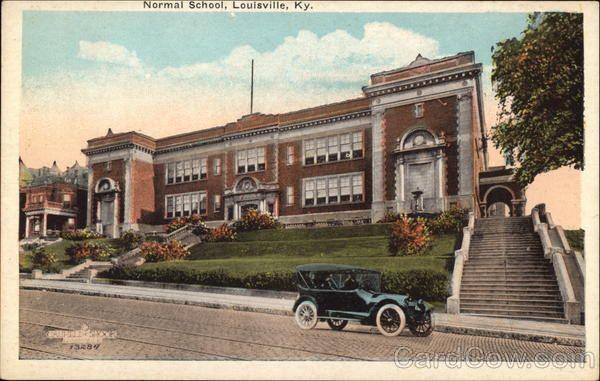 Normal School East Broadway St.,Louisville Kentucky 1920's, later Eastern Jr. High School