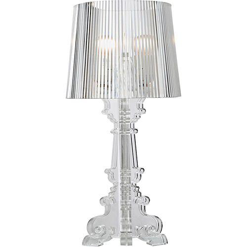 Luminária de Mesa A366P Transparente - Premier Iluminação