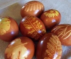 onion skin eggs : Repin if you like it