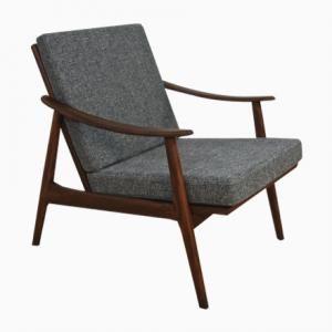 Dänischer Mid-Century Sessel aus Teak, 1960er