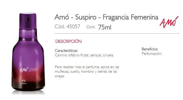 AMO SUSPIRO-FEMENINO