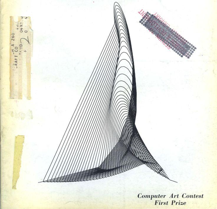 1964 Как начиналось компьютерное искусство 1967 1963 1966 1966 1967 1967 1967 1968 1968 1973 1973 Из журнала Computers and Automation