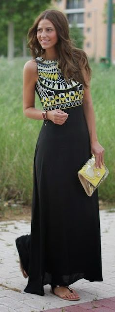Stylish Round Collar Sleeveless Chiffon Printed Dress For Women