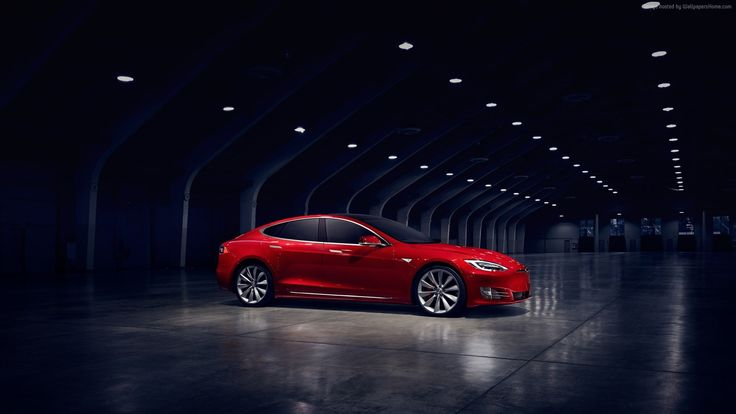 tesla model s p90d wallpaper