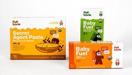 FULLTANK baby food packaging design appreciation