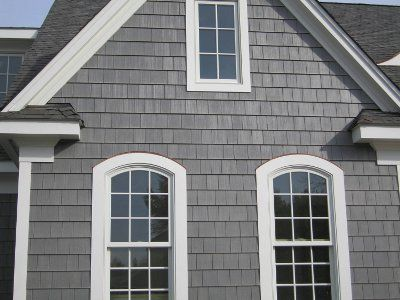 Light Gray Shake Siding Love For The Home Pinterest