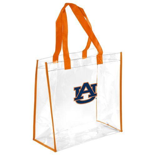 Team Beans Auburn University Clear Reusable Bag