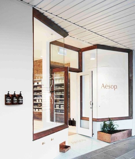 Henry Wilson Studio converts former bakery into Sydney Aesop store