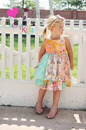Create Kids Couture - Mia's Reverse Knot Twirly Dress PDF Pattern, $8.00 (http://ckcpatterns.com/mias-girls.html)