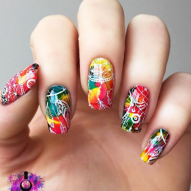 Indian Ocean Polish Colour Blocking Nails With Opi Fly: Best 25+ Indian Nail Art Ideas On Pinterest